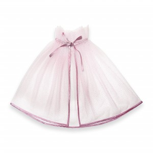 Tulle cape - Pink