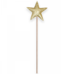 Magic wand star - Gold