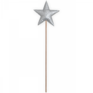 Magic wand star - Silver