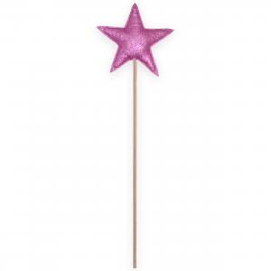 Magic wand star - Pink