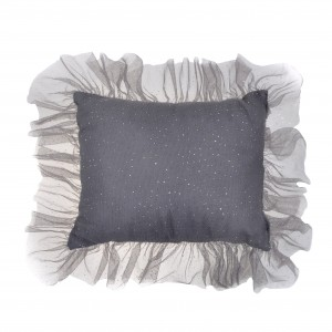 Ruffle rectangle pillow-...