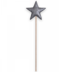 Magic wand star - Anthracite