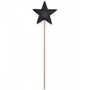 Magic wand star - Black