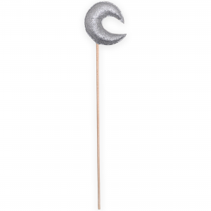 Magic wand moon - Silver